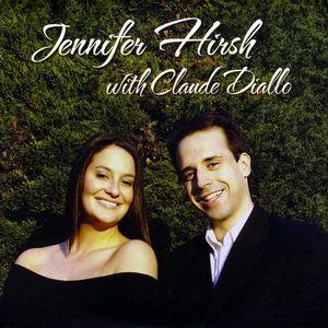 Jennifer Hirsh with Claude Diallo