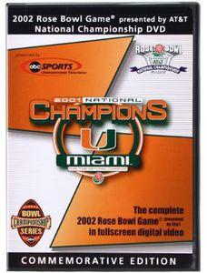 Miami Hurricanes: 2002 Rose Bowl