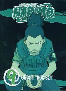 Naruto Uncut Box Set: Volume 9