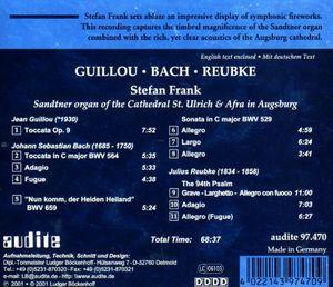 Guillou /  Reubke /  Bach