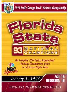 1994 Orange Bowl Championship Florida State