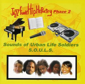 Jazz Funk Hip Hopoetry-Phaze 2