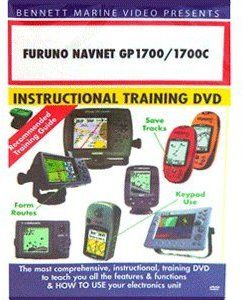 Furuno Navnet Gp 1700 1700c Chartplotter Only Operation: 1722,1732,1742,1762,1722C,1742C,1762C