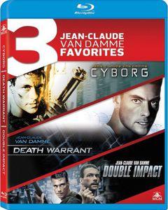 3 Jean-Claude Van Damme Favorites: Cyborg /  Death Warrant /  Double Impact