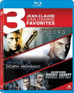 3 Jean-Claude Van Damme Favorites: Cyborg /  Death Warrant /  Double Impact