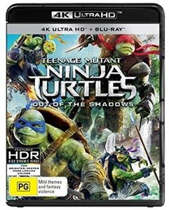 Teenage Mutant Ninja Turtles: Out Of The Shadows [Import]
