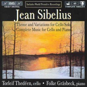Works For Cello & Piano (complete)