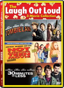 The Laugh Out Loud 3-Movie Collection: Zombieland /  Not Another Teen Movie /  30 Minutes or Less
