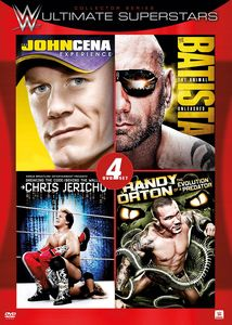 Wwe: 4 Film Favorites - Ultimate Superstars Coll