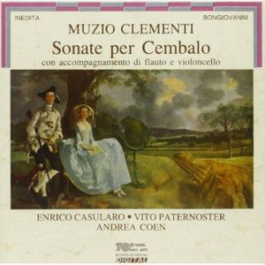 Sonate Per Cembalo Con Accompagnamento Di Flauto