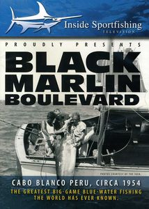 Black Marlin Boulevard W /   Ted Williams Circa 1954