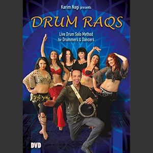 Drum Raqs DVD: Live Drum Solo Method for Drummers and Dancers
