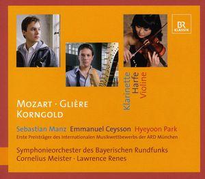 Clarinet Concerto /  Harp Concerto /  Violin Cto