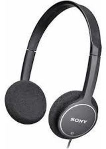 SONY MDR222KDBK Kid's Headphones Black