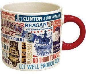 Presidential Campaign Slogan 12 Oz Coffee Mug
