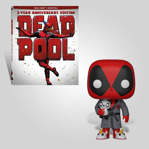 Deadpool In A Robe 2 Year Anniversary Bundle