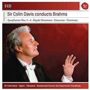 4 Symphonies & Haydn Variations & Piano Concertos