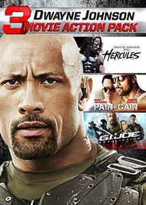 Dwayne Johnson 3 Movie Action Pack