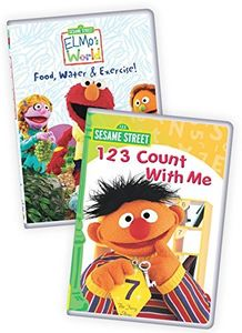 Sesame Street: Elmo's World - Food, Water And Exercise/ 123 Count WithMe