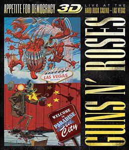 Guns N' Roses: Appetite for Democracy 3D: Live at the Hard Rock Casino, Las Vegas [Import]