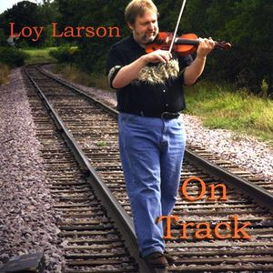 Loy Larson on Track