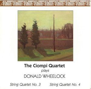 Ciompi Quartet Plays Donald Wheelock