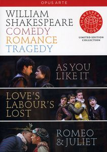 Shakespeare: Comedy Tragedy Romance