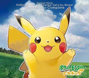 Nintendo Switch Pokemon Let's Go! Pikachu.Let's Go! Eevee Super MusicCo [Import]