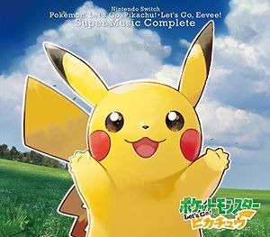 Nintendo Switch Pokemon Let's Go! Pikachu.Let's Go! Eevee Super Music Co [Import]