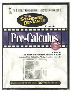 Standard Deviants: Pre-Calculus, Vol. 2