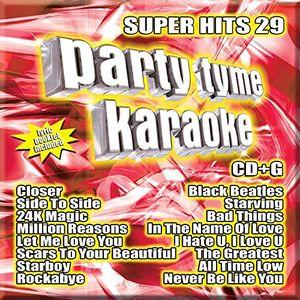 Party Tyme Karaoke: Super Hits, Vol. 29