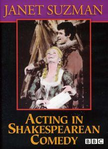 Acting in Shakespearean Comedy: Janet Suzman