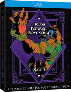 JoJo's Bizarre Adventure Set 1: Phantom Blood and Battle Tendency