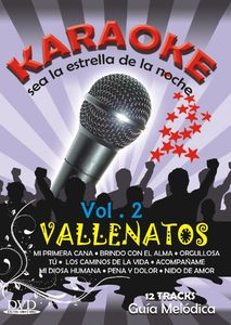 Karaoke: Vallenatos: Volume 2