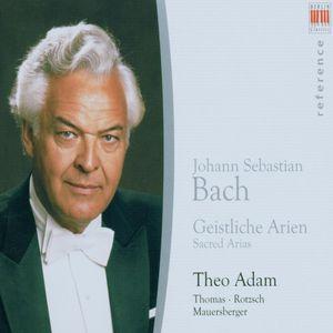 Sings Sacred Arias of J.S. Bach