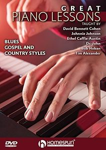 Great Blues Rock and Gospel Piano Lessons