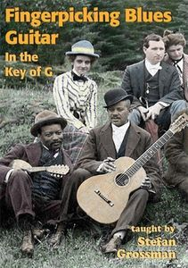 Fingerpicking Blues Guitar in the Key of G [Import]