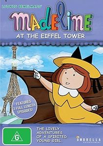 Madeline at the Eiffel Tower