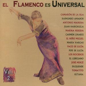 Vol. 2-El Flamenco Es Universal [Import]