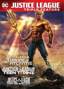 Justice League Vs. Teen Titans Gods and Monsters /  Throne of Atlantis