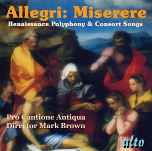 Miserere Renaissance Polyphony & Part Songs