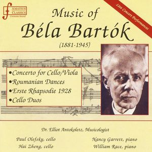 Music of Bela Bartok