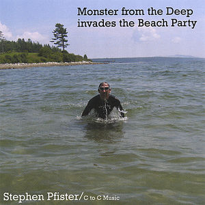 Monster from Deep Invades Beach Party