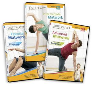 Stott Pilates: Pro Matwork Series 3rd Edit. (3 DVDs)