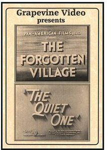 Forgotten Village (1941) /  Quiet One (1948)