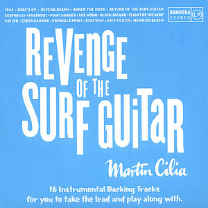 Revenge of the Surf Guitar Backing Tracks