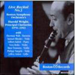 Mendelssohn/ Mozart/ Weber : Wright Wright & Kalish Play Weber Etc.