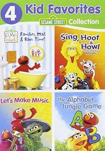 4 Kid Favorites: Sesame Street