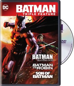 Batman Bad Blood Triple Feature