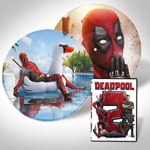 Deadpoool 2 DVD LP Bundle